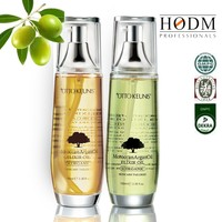 Natural extract salon use smooth & soft hair care oil argan oil hair softening treatment in bulk