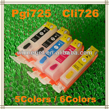 Pgi 725 Ink Cartridge For Canon Pixma Ip4870/ip4970/mg5170/mg5270 ...