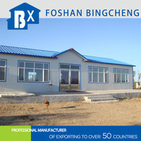 eco-friendly prefabricated steel modular house for sale