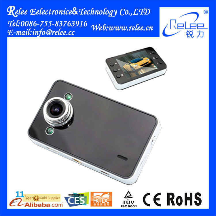 Security Camera Video 1080P G-sensor Car DVR camcorder with 2.7 inch Screen!