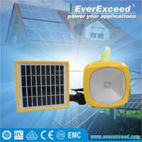 EverExceed solar lighting system for home and outside