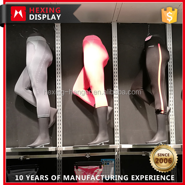 Fiberglass Female Sexy Leg Mannequin Store Display