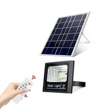 High Lumen Remote Control IP67 waterproof 25w 30w 40w 50w 60w 80w 100w smd solar led flood light with arm