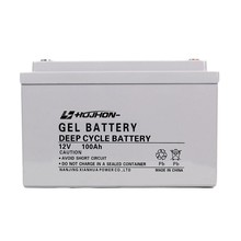 UPS solar gel 12v 100ah battery for home appliances