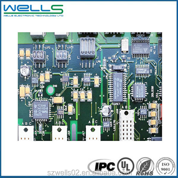 Rohs standard 6 layer rigid flex avalon pcb factory