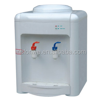 Plastic mini hot and normal water dispenser