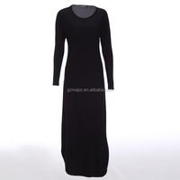 Customed high fashion plain Ialamic casual wear fitness arab baju
