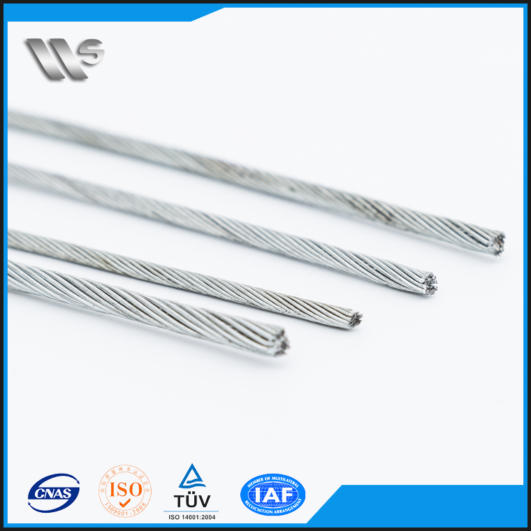 high quality low tensile strength 1*3wire steel strand for prestressed concrete