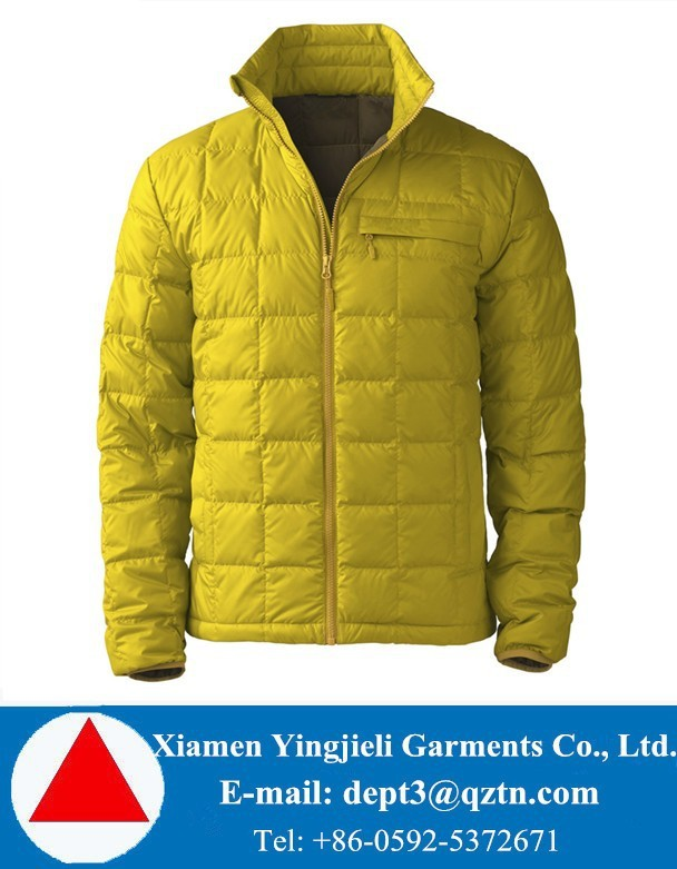 Canada Fashion Lightweight Goose Jacket Down Feather Goose Jacket DWR Coating
