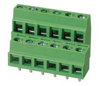 13.5A screw PA66 UL 94V-0 green connector EELK508V-..P(B) Dinkle terminal block