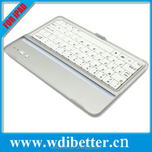 New Tablet Case Wireless Bluetooth Keyboard Protective Aluminium Alloy Case For Apple iPad 2/iPad 3/iPad 4 iPad mini