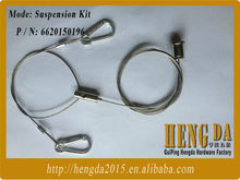Factory made stainless steel wire rope sling for led lights accessories with good quality