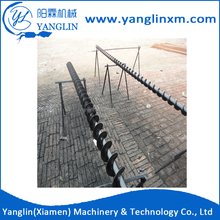 Hot selling galvanized Q235 silent piling bored pile foundation