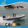 CE Approved Rigid Hull Aluminum RIB Hypalon or PVC Inflatable Boat