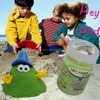 moving sand art,educational toys,play sand for children,hydrophobic magic sand