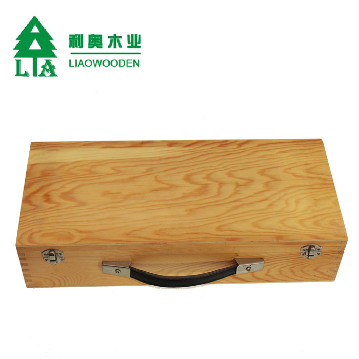 foldable gift wooden crate wholesale