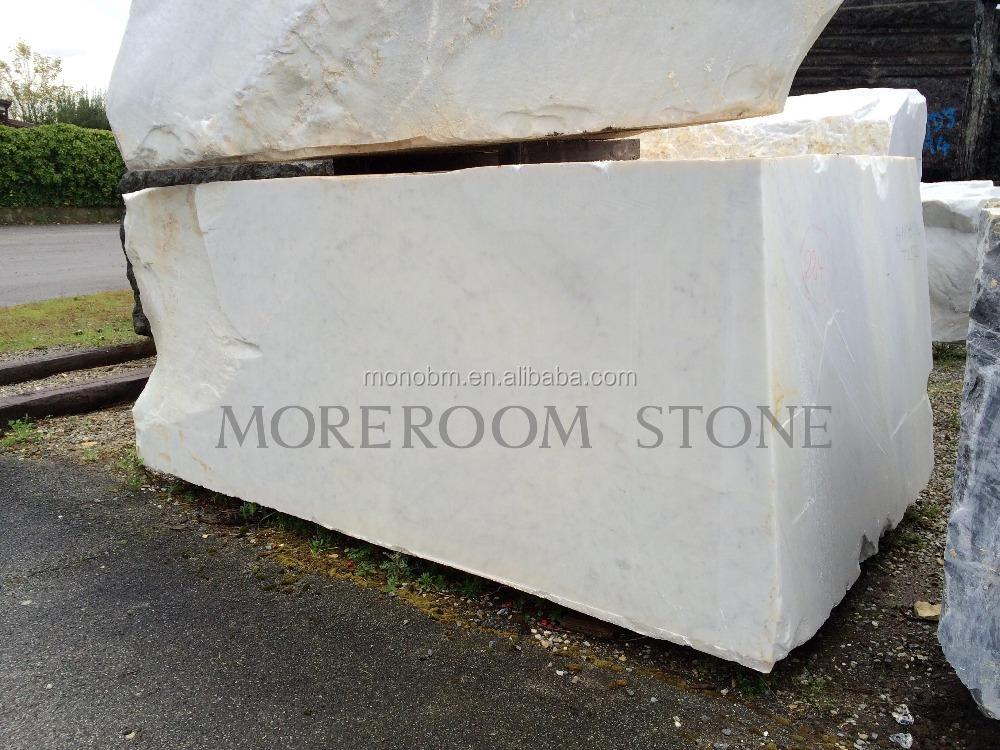 italie marbre bianco carrara blanc marbre dalle bloc de marbre prix marbre id de produit. Black Bedroom Furniture Sets. Home Design Ideas