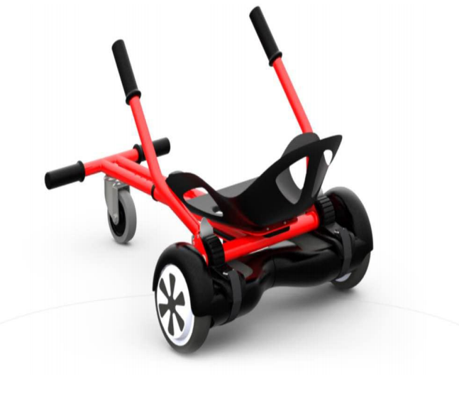 Go Future Kids Pedal Hover Cart Handle Go Kart Hoverboard Bracket