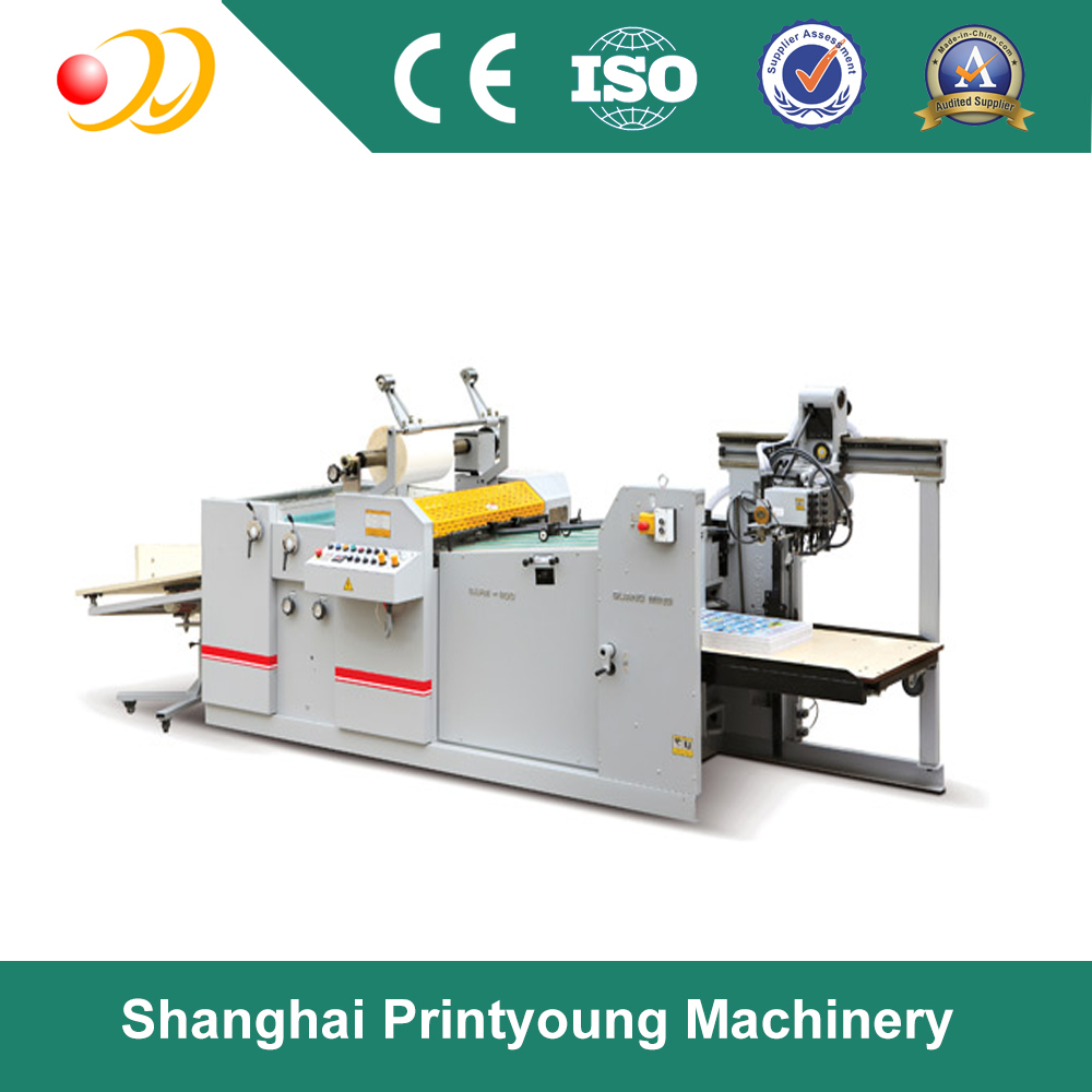 SAFM-800A/800B Fully automatic industrial BOPP thermal film laminating machine