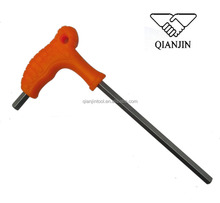 High quality ASSIST T model square hex key wrench with rubber handle