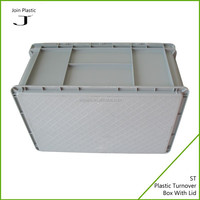 Pack plastic crates for produce