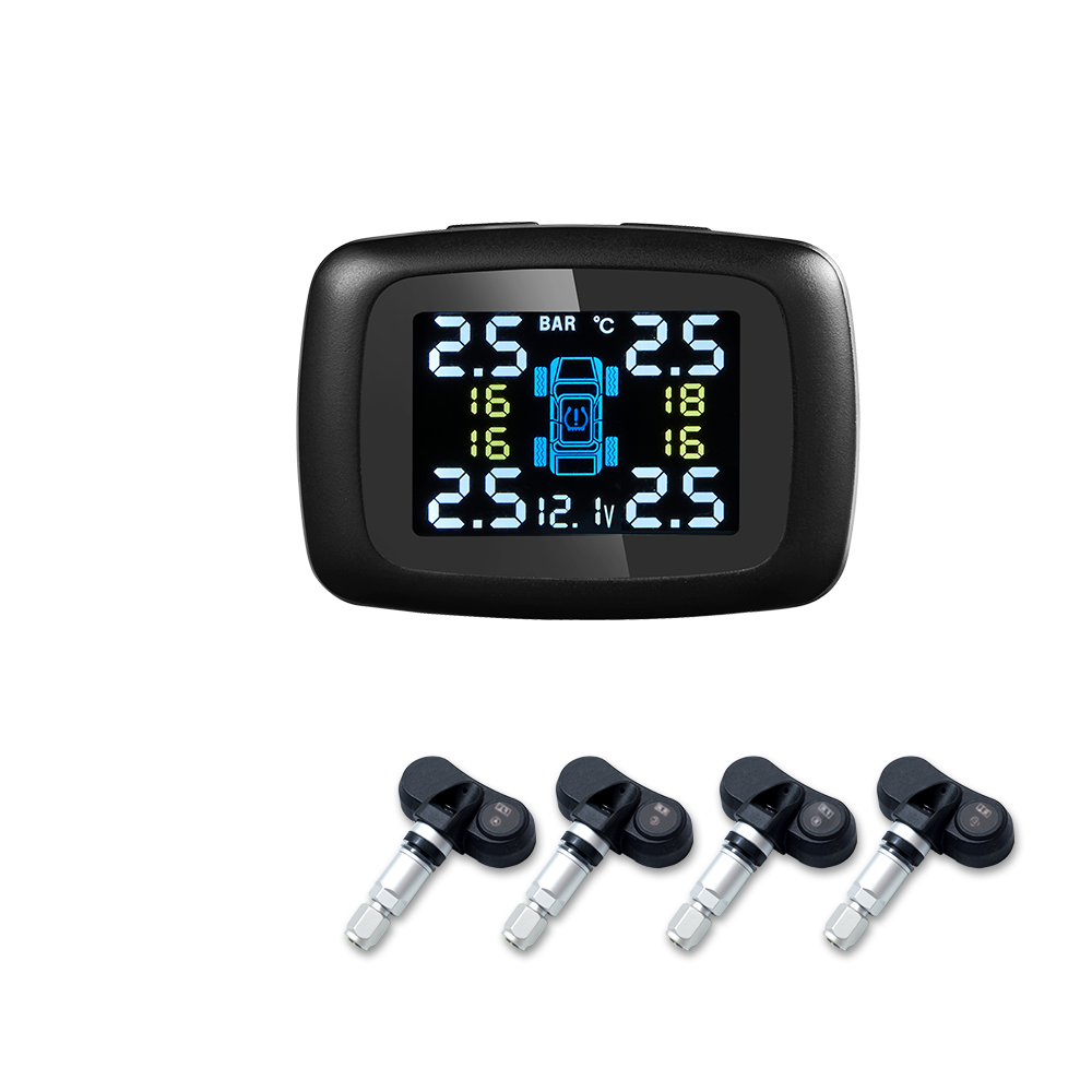 Riboton Newest Cigarette TPMS Moving USB Port for Mobile <strong>Phone</strong> Charging and Real-Time Monitoring Tire Pressure and Temperature