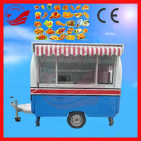 Different Models Trailer Cart Multi-function Mobile Pizza Van For Sale