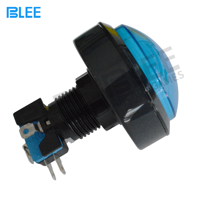 2018 hot sale illuminated Momentary led 12 volt arcade switch push button switch