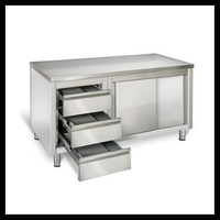 Professional Supply Stainless Steel Kitchen Cabinet With Drawers Design
