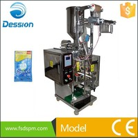 Three/four-edge-sealing fabric softeners packing machine