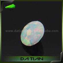 wholesale oval/hand shape loose synshetic opal gemstone price list