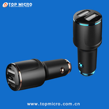 Intelligent Multi-functional 3.1A Dual USB with APP+Bluetooth Call Phone Car Charger