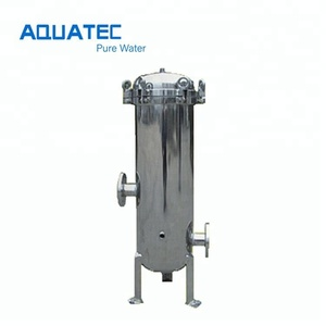 Industrial stainless steel cartridge filter housing for pre filtration system