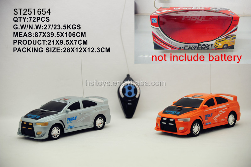 2015 Best selling toys ! High Quality! 2ch model rc car with certification on sale