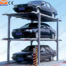 4 post car parking lift motorcycle lift