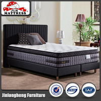 Ergonomic cooling gel mattress topper