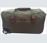 2015 wholesale polyester military trolley travel bag of latest designs