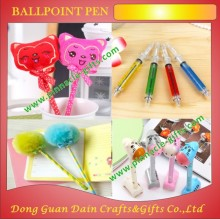 bulk hairball feathers funny cheap ballpoint pen
