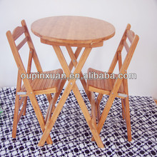 Factory supplier hot selling and high quality bamboo dining room set with CE ROHS