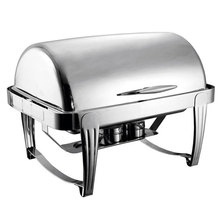 Roll top electric chafing dish cheap chafer dish hotel restaurant supplies
