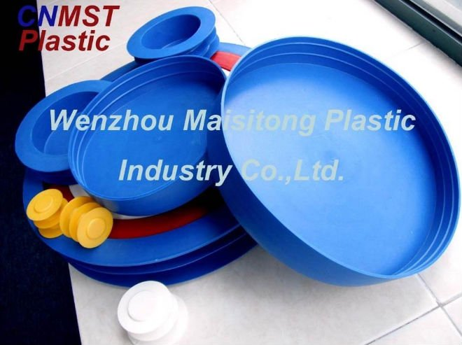Plastic pipe cover