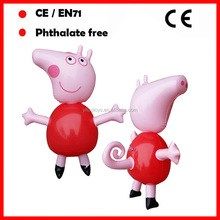 PVC inflatable pig toys inflatable animal toys for kids