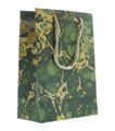 2017 Cool and Luxury Marble Grain Pattern Eco-friendly Cardboard Paper Carry Shopping Gift Bag with Rope Handle