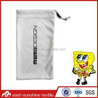 microfiber microfiber drawstring camera bag,logo bag microfiber drawstring camera bag