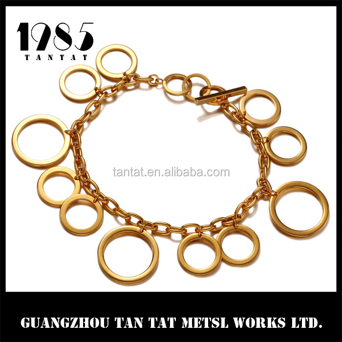 Women's Jewelry Bracelets 050085BNK Stainless Steel Bracelet Dubai Jewelry