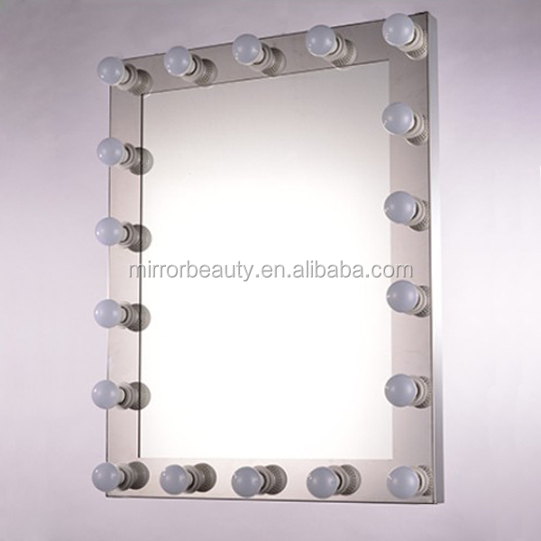 2015 date hollywood maquillage miroir avec led pour salon for Miroir indonesia