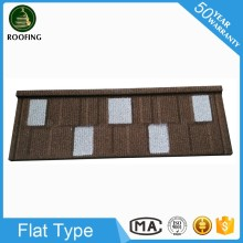 Wholesale Flat building material,stone coated metal roofing shingles for wholesales