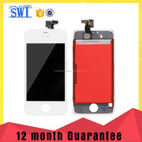 mobile phone parts factory no dead pixel lcd for iphone 4s lcd complete for iphone 4s lcd screen grade aaa quality