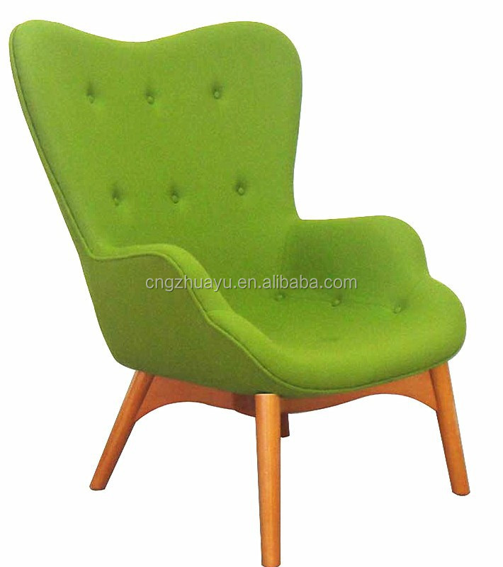 Grant Featherston lounge chair and ottoman replica