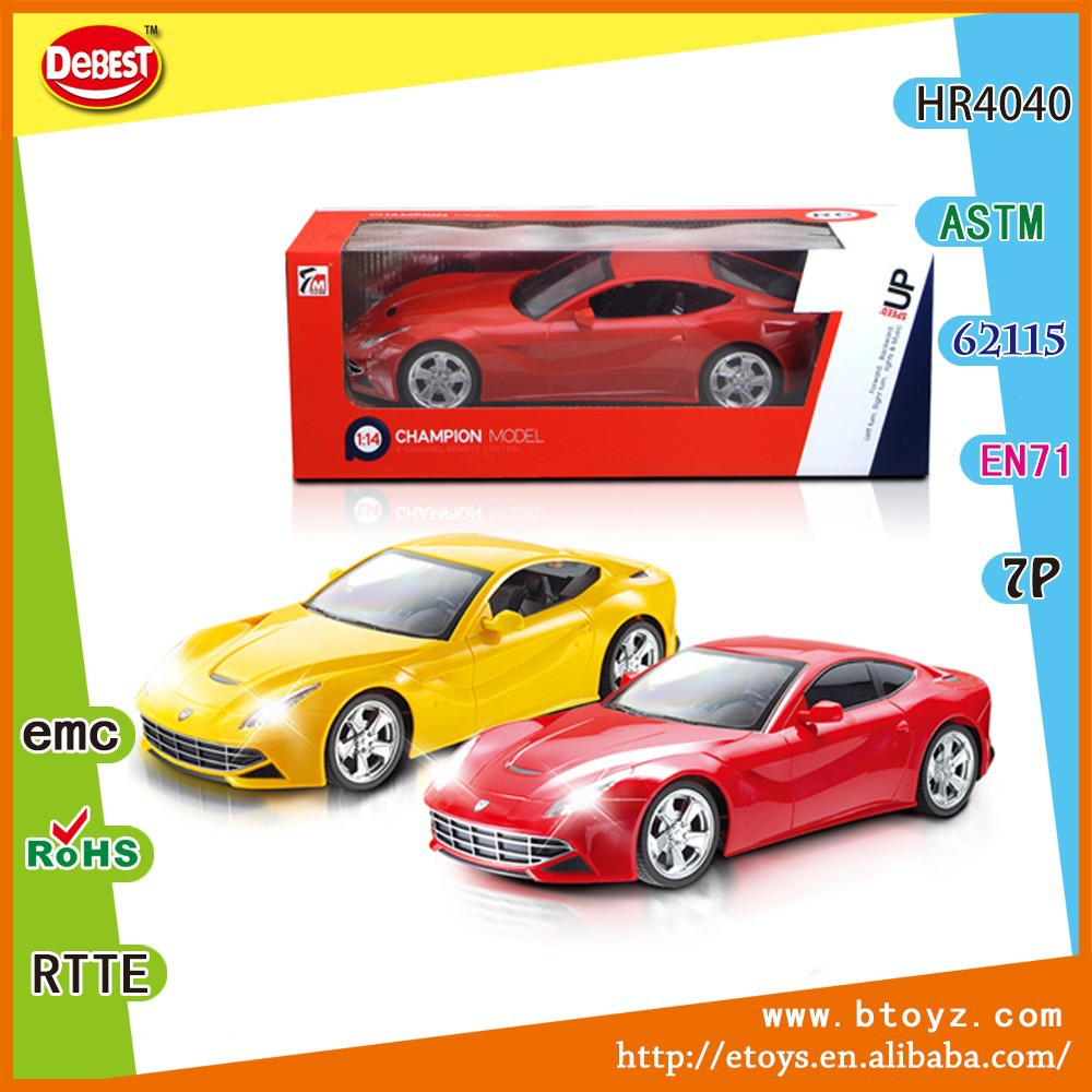 1:14 scale radio control model car toy